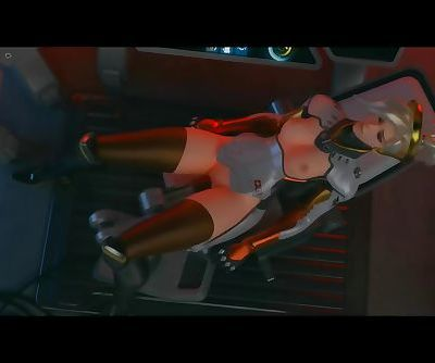 Overwatch Mercy using her..