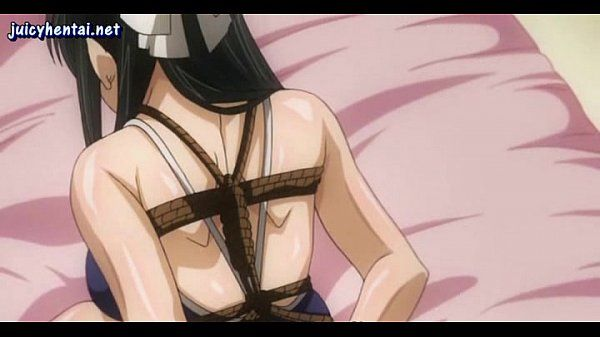Lascive anime babe gets..