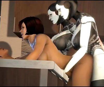 EDI Mass Effect Orgy