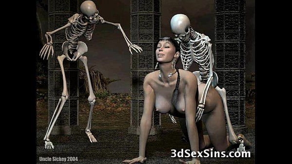 Orcs Bang 3D Babes! - 3 min