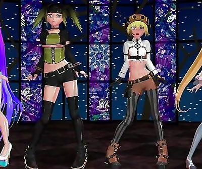 MMD Ghostly Dance