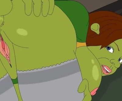 Hentai Shrek and Fiona Porn..